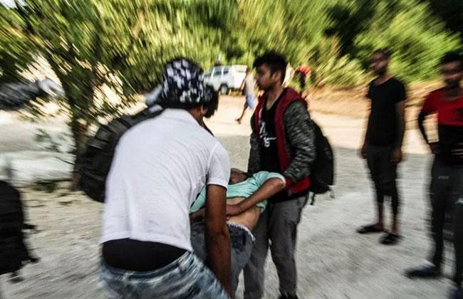 Flüchtlinge in Not