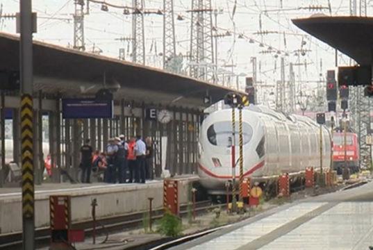 Todesstoß vor den Zug