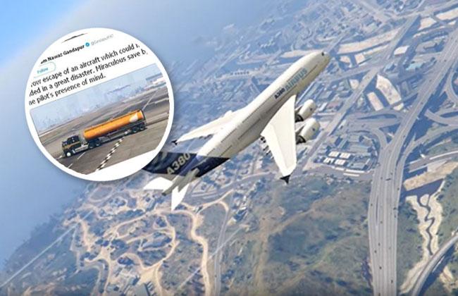 Fake-Landung verwirrt Politiker