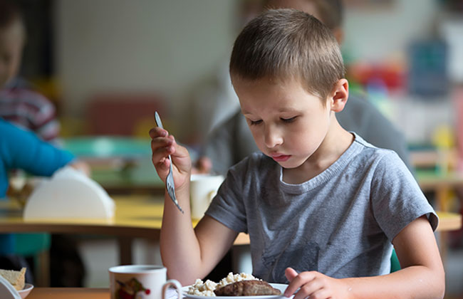 Kindergarten stellt Essensplan um