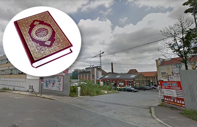 Versteckte Moschee in WIen