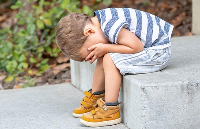 Kind alleine in Gmünd