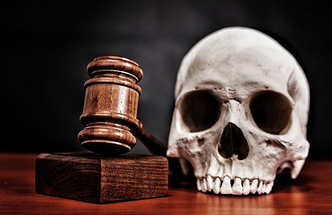 Urteil, Skelett