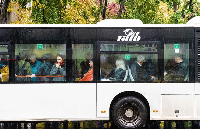 Bus-Regen