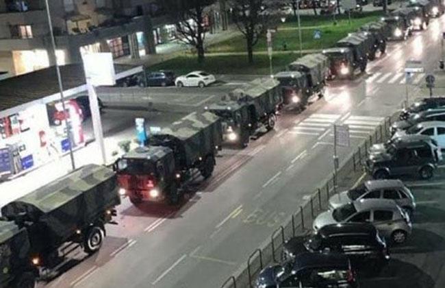 Italien Militär Leichen