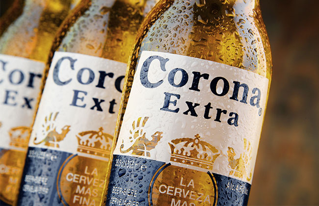 Corona Bier Produktion