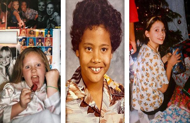 Stars Kinderfotos