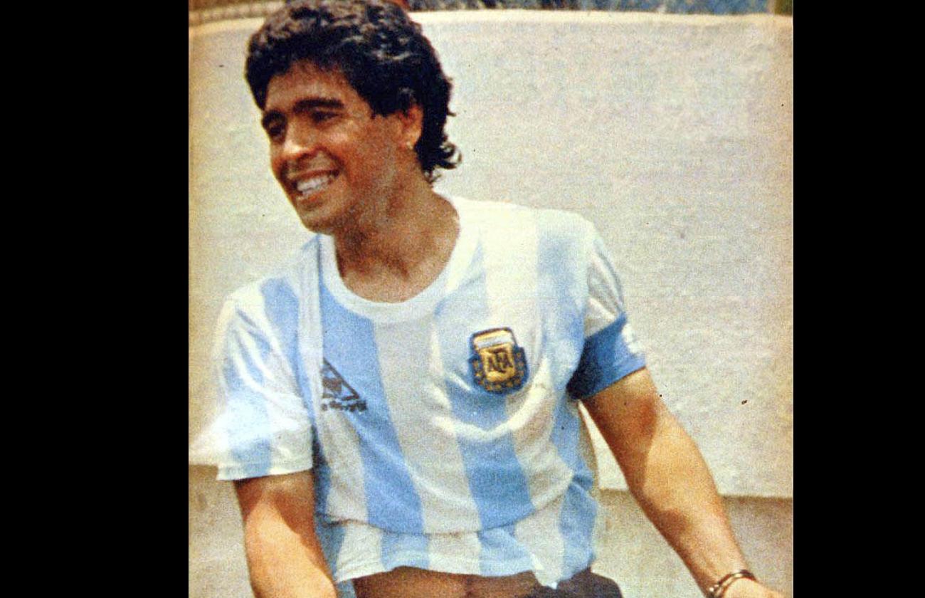 Diego_Maradona_tot_Argentinien_Fußball_Star